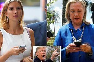 Ái nữ của ông Trump 'đi vào vết xe đổ' của bà Hillary Clinton