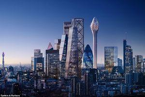 Choáng ngợp tòa nhà chọc trời mới nhất ở thủ đô Anh
