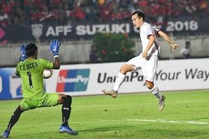 AFF Cup 2018: Văn Toàn có việt vị khi ghi bàn vào lưới Myanmar?