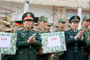 Diễn tập liên hợp cứu trợ thảm họa, dịch bệnh khu vực biên giới Việt Nam-Trung Quốc