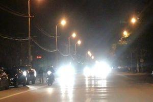 Hà Nội: Xử lý nghiêm các phương tiện vận tải lắp còi, đèn chiếu sáng sai quy định