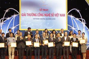 Lần đầu tiên trao Giải thưởng Công nghệ số Việt Nam trong lĩnh vực giáo dục và đào tạo