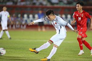 Không có bàn thắng trong trận Việt Nam - Myanmar