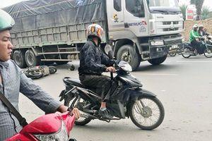 Người đàn ông tử vong sau va chạm với xe tải