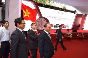 Thủ tướng Nguyễn Xuân Phúc dự lễ ra mắt xe VinFast