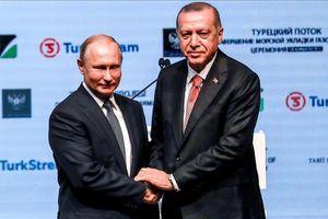 Putin và Erdogan đặt dấu mốc quan trọng cho Dòng chảy Thổ Nhĩ Kỳ