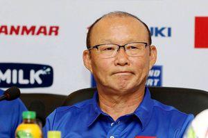 Thầy trò HLV Park Hang-seo tự tin đánh bại Myanmar