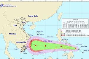 Lại xuất hiện áp thấp nhiệt đới mới gần biển Đông có thể mạnh lên thành bão