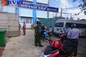 Thông tin mới nhất vụ sập giàn giáo ở trường Tiểu học Huỳnh Văn Bánh