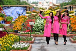 TP.HCM tổ chức chợ hoa Tết Kỷ Hợi 2019 tại các công viên lớn