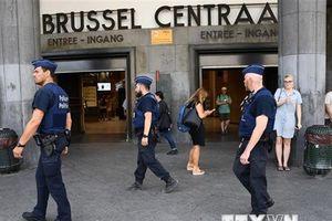 Cảnh sát Bỉ bị tấn công bằng dao ngay giữa thủ đô Brussels