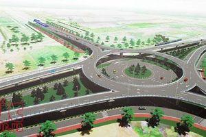 Đẩy nhanh tiến độ nút giao thông vòng xuyến 2 tầng tại khu Kinh tế mở Chu Lai