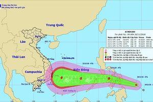 Áp thấp nhiệt đới có khả năng mạnh lên thành bão đổ bộ vào Nam Trung Bộ