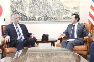 Hàn Quốc và Mỹ tăng cường phối hợp về vấn đề Triều Tiên