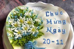 Quà tặng 20/11: Tan chảy trước những chiếc bánh ngọt ngào dâng lên thầy cô