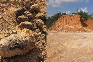 Tiêu hủy gần 1.000 quả mìn, đạn pháo trong vườn nhà dân
