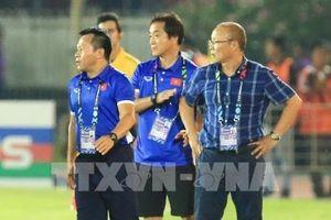 Việt Nam gặp Myanmar: HLV Park Hang Seo không hài lòng về trọng tài