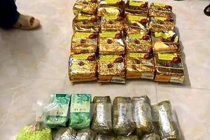 Triệt phá đường dây mua bán ma túy cực lớn