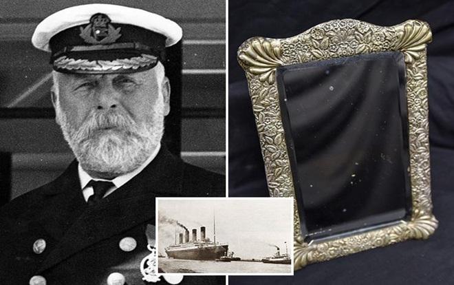 Gương 'bị ám bởi hồn ma' của thuyền trưởng Titanic được bán đấu giá