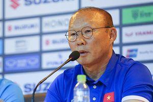 HLV Park Hang Seo nói gì về đội hình tuyển Việt Nam đấu Myanmar?