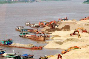 Hà Nội: Tăng cường kiểm tra, xử lý hoạt động khai thác cát, sỏi trái phép