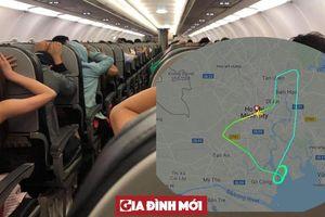 Hành khách của Vietjet Air ôm đầu, cầu Phật khi máy bay gặp sự cố trên trời