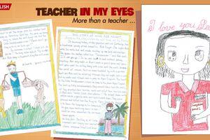 Kết quả cuộc thi 'Teacher in my eyes': Sáng tạo và đáng yêu như học sinh Apax English