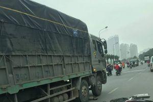 Danh tính nạn nhân TNGT tử vong ở đường gom Đại lộ Thăng Long