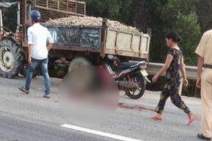 Huế: Tai nạn giao thông khiến hai bố con tử vong