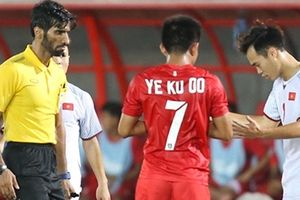 Phải chăng trọng tài đã tước mất chiến thắng của đội tuyển Việt Nam?