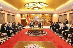 Phó Thủ hiến bang Sachsen, Cộng hòa Liên bang Đức thăm Hà Nội