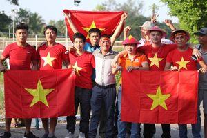 CĐV Việt Nam đổ bộ Thuwanna, sẵn sàng 'tiếp lửa' cho ĐT Việt Nam