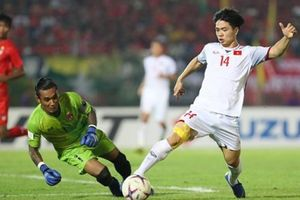 Myanmar 0-0 Việt Nam: Khách hòa trên thế thắng