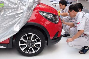 Mục sở thị xe ô tô cỡ nhỏ Fadil của VinFast có giá bình dân lần đầu xuất hiện