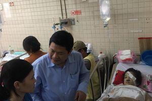 Thông tin mới vụ sập giàn giáo ngày 20/11 khiến 25 học sinh nhập viện