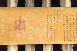 Phát hiện 2 đạo sắc phong cổ thời Nguyễn tại Phú Yên