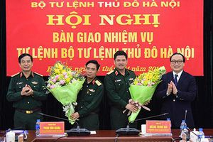 Bộ Tư lệnh Thủ đô chính thức có Tư lệnh mới