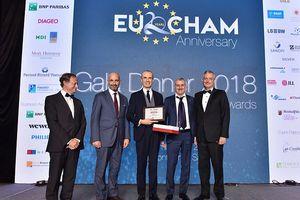 Tập đoàn Piaggio đạt giải Nhất 'Doanh nghiệp xuất sắc' 2018 của EuroCham