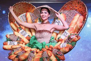 H'Hen Niê công bố quốc phục là váy bánh mỳ từng gây tranh cãi