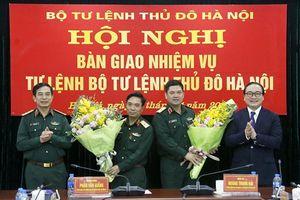 Hà Nội: Bàn giao nhiệm vụ Tư lệnh Bộ Tư lệnh Thủ đô