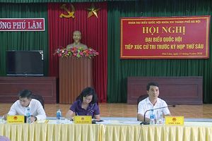 Thay đổi địa điểm tiếp xúc cử tri Đơn vị bầu cử số 3 của Đoàn đại biểu Quốc hội Hà Nội