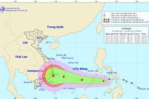 Áp thấp nhiệt đới có khả năng mạnh thành bão