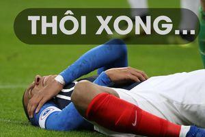 Pháp trả giá đắt sau chiến thắng sát nút Uruguay trên sân nhà