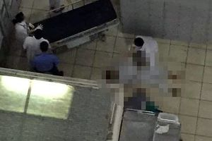 Nam bệnh nhân rơi từ cầu thang bệnh viện xuống đất tử vong