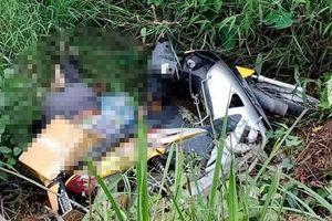 Người đàn ông tử vong dưới mương nước cùng chiếc xe máy
