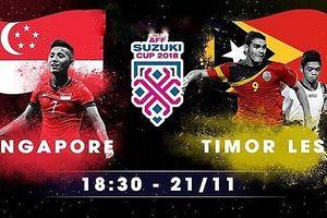 Singapore 6-1 Đông Timor: Trận đấu an nhàn của đội chủ nhà