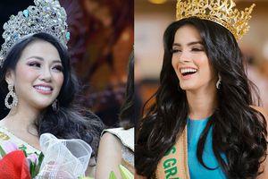 Hoa hậu Hòa Bình bị chỉ trích vì cười hả hê khi được khen đẹp hơn Phương Khánh