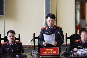 Đề nghị mức án đối với cựu Trung tướng Phan Văn Vĩnh và đồng phạm