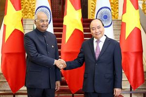 Việt Nam, Ấn Độ nhất trí đẩy mạnh hợp tác toàn diện