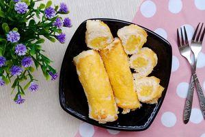 Bữa sáng 'thần tốc' với món bánh mì cuộn ngọt thơm